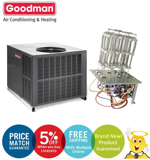 Air Conditioner Package Unit Section : Gpc m hkp c prices to buy ton goodman seer