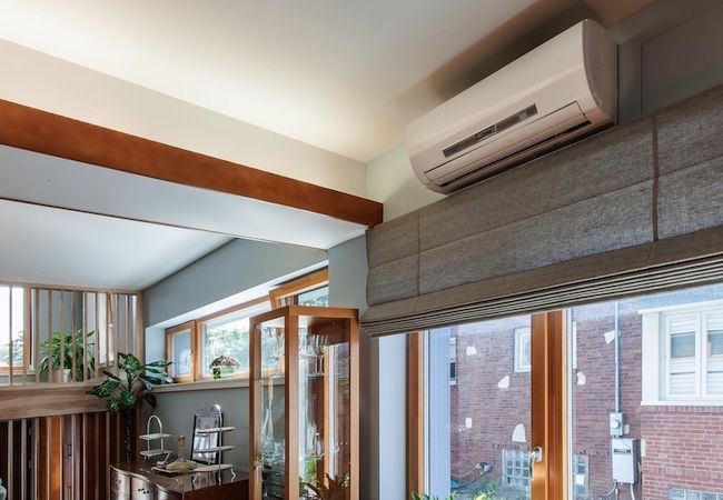 Installing Wall Mount Ac System Above Window